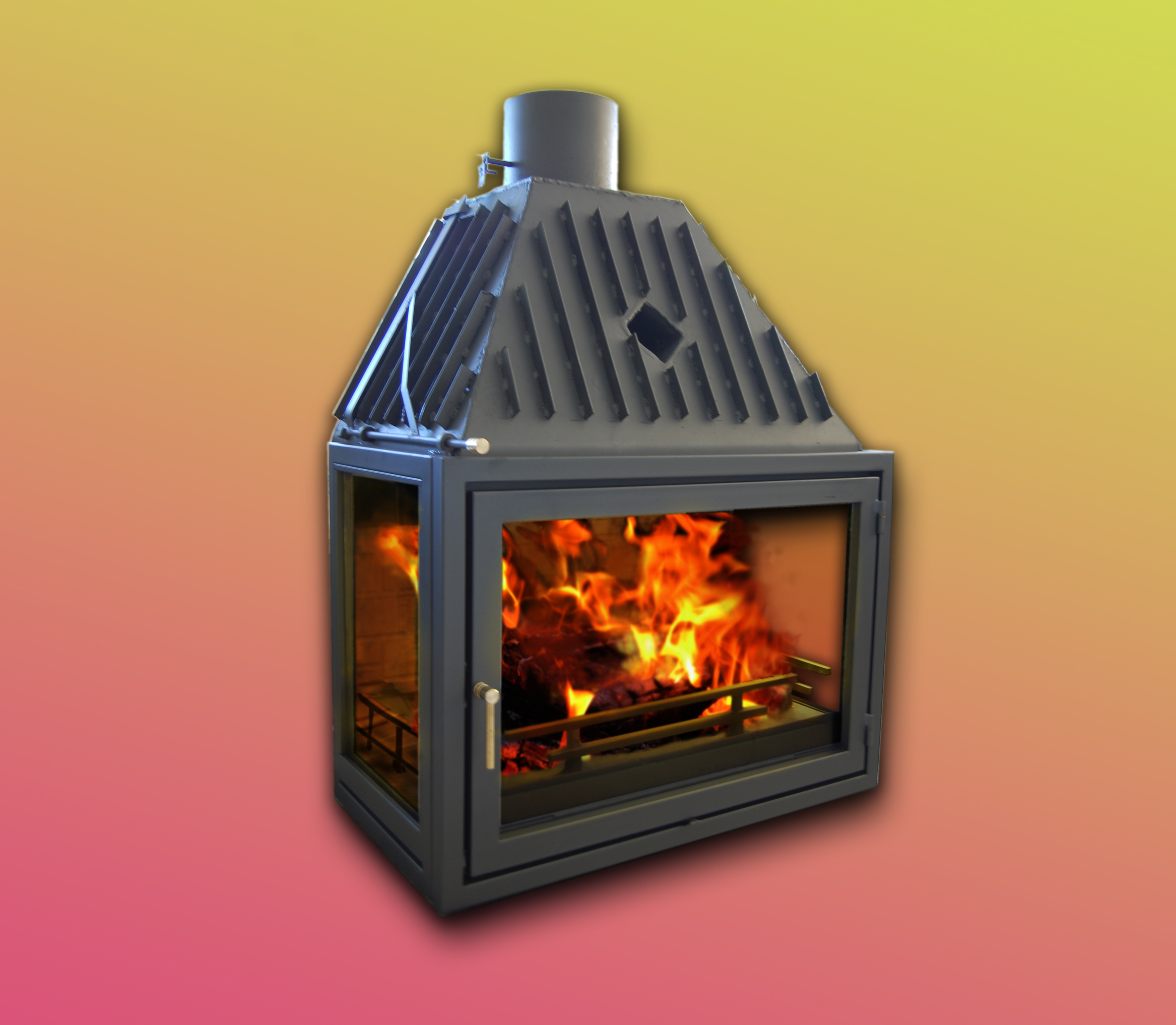 Solid fuel stoves and fireplaces